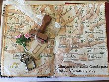 Arbol genealogico en el libro del hechicero