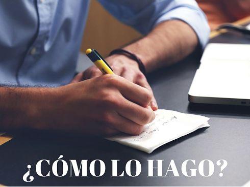 Cumplir los principios del escritor