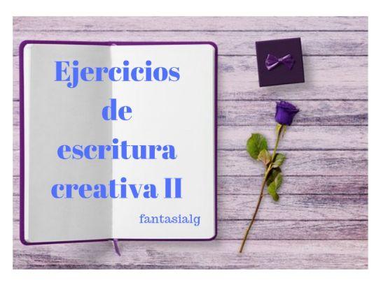 Ejercicios de escritura creativa