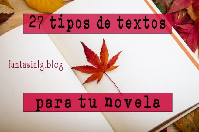 024a4b5b11 27 Tipos de Textos diferentes para Introducir en tu Novela. La Carta