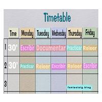 10 Tips para organizar tu horario de escritura. Fantasialg.blog